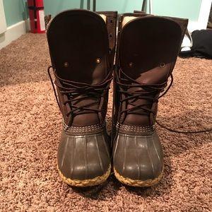 L.L. Bean- Bean Boots Size 8 Medium